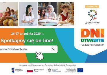 Polska: Dni Otwarte Funduszy Europejskich online!