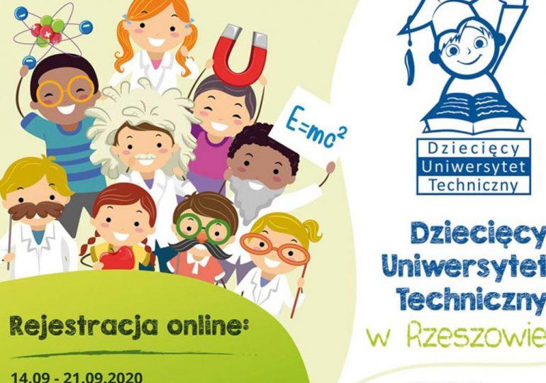 Rzeszów: Rejestracja na Dziecięcy Uniwersytet Techniczny w nowej rzeczywistości