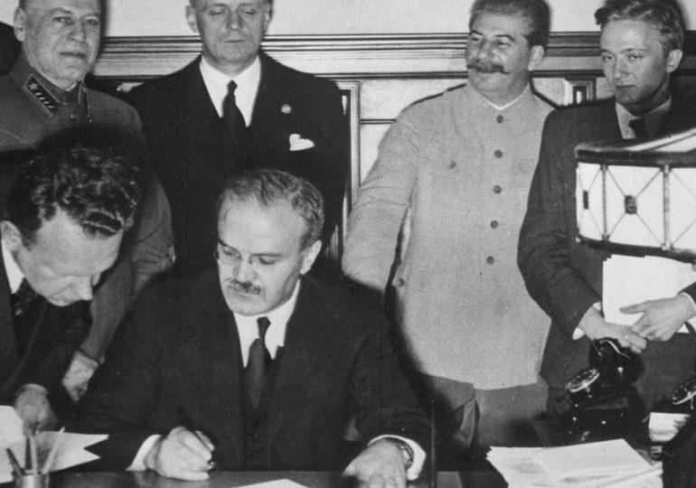 Świat: Rocznica podpisania paktu Ribbentrop-Mołotow