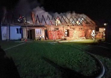Lubaczów: Pożar w Opace. Nie udało się uratować 58-latka