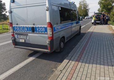 Krosno: Policyjna obława za kierowcą Audi.