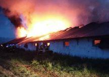 Mielec: Pożar na fermie drobiu. Wewnątrz kilka tysięcy indyków.