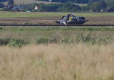 Krosno: W Bajdach na przejeździe kolejowym zginęły dwie osoby