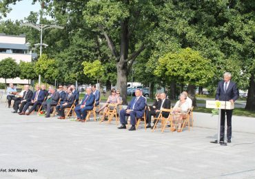 """Tarnobrzeg: Uroczyste obchody 40. rocznicy powstania NSZZ """"Solidarność"""" w Nowej Dębie"""
