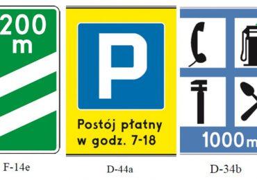 Polska: Nowe znaki drogowe na polskich drogach