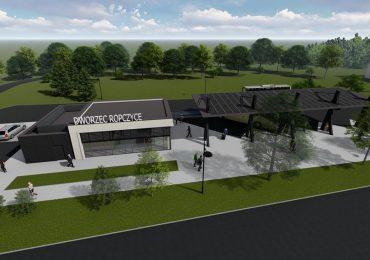 Ropczyce: Nowy Dworzec PKS - projekt
