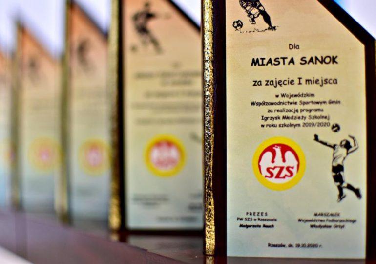 Sanok: Miasto ponownie numerem 1 we współzawodnictwie sportowym na Podkarpaciu