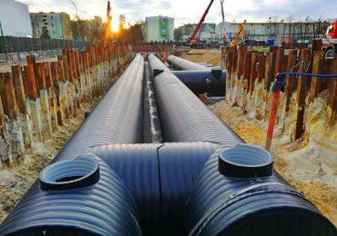 Mielec: Zakończenie prac przy drugim etapie budowy zbiorników retencyjnych