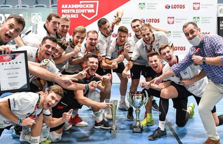 Sport: Rzeszowscy studenci akademickimi mistrzami Polski w siatkówce mężczyzn