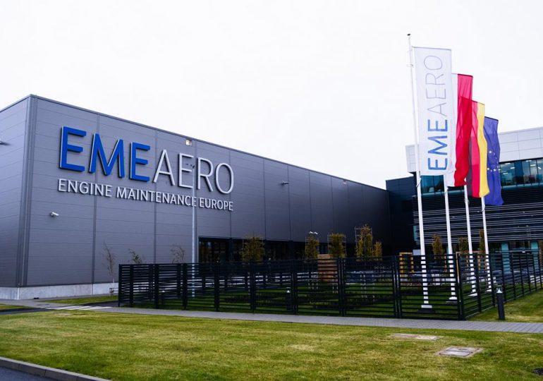 Rzeszów: EME Aero ukończyło pierwsze regularne wizyty serwisowe silników typu GTF Pratt & Whitney [fotorelacja]