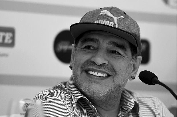 Sport: Zmarł Diego Maradona, argentyńska legenda futbolu