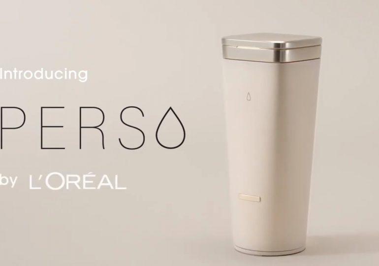 Technologia: L'Oréal zaprezentowało Perso. Urządzenie, które wyprodukuje w domu spersonalizowane kosmetyki.