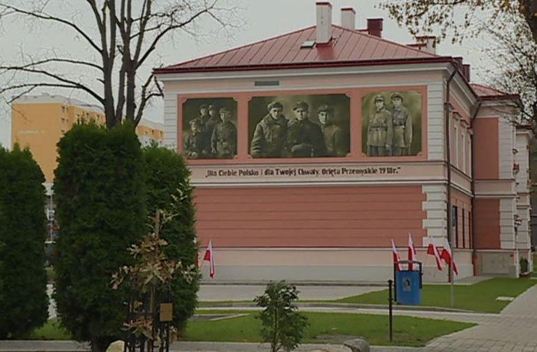 Przemyśl: Odsłonięto mural poświęcony Orlętom Przemyskim