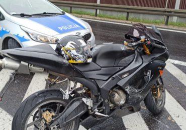 Jarosław: Motocyklista uciekał przed policją prze dwa powiaty. Przekroczył prędkość o ponad 100 km/h