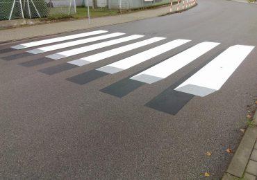Sanok: Trójwymiarowe przejście dla pieszych