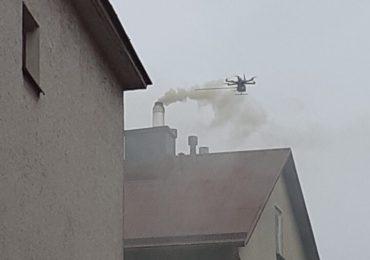 Mielec: Drony kontrolowały miasto