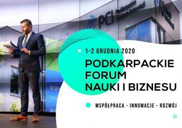 Rzeszów: Podkarpackie Forum Nauki i Biznesu zakończone sukcesem