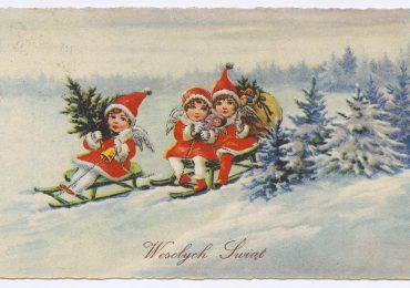 Jarosław: Tak wyglądały niegdyś kartki pocztowe wysyłane na Boże Narodzenie [fotogaleria]