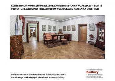 Jarosław: Meble z pałacu Dzieduszyckich odnowione [fotorelacja]