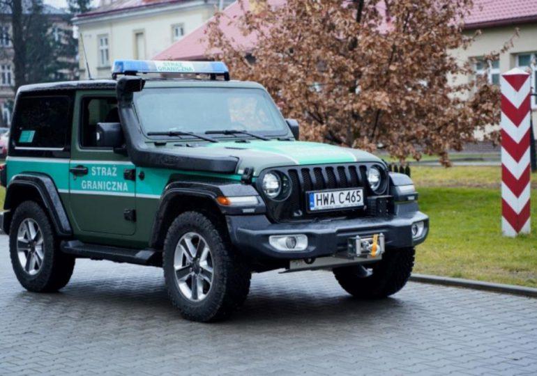 Ustrzyki Dolne: Straż Graniczna na Podkarpaciu ma nowe samochody i motocykle