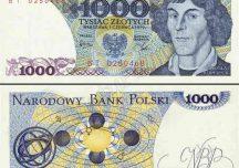 Polska: Zostanie wprowadzony banknot o nominale 1000 zł