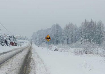 Ropczyce: Śnieżyca zaatakowała powiat ropczycko-sędziszowski.