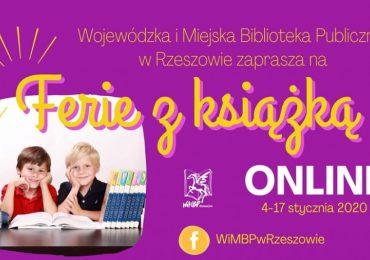 """Rzeszów: Biblioteka zaprasza dzieci na """"Ferie z książką ONLINE"""""""