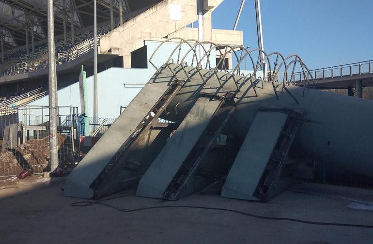 Rzeszów: Ze Stadionu Miejskiego znikają jupitery