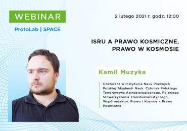 Rzeszów: ISRU a prawo kosmiczne i prawo w kosmosie - webinar