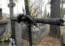 Przeworsk: Kradł krzyże z cmentarza i sprzedawał je na skupie złomu