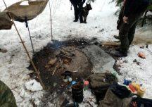 Sanok: Włamywacz ukrywając się przed policją – zamieszkał w lesie