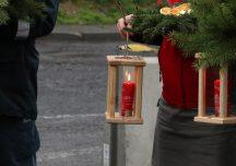 Jarosław: Betlejemskie Światło Pokoju trafiło na Ukrainę [fotogaleria]