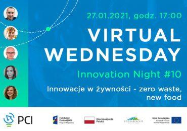 Rzeszów: O innowacjach w żywności podczas Virtual Wednesday Innovation Night #10