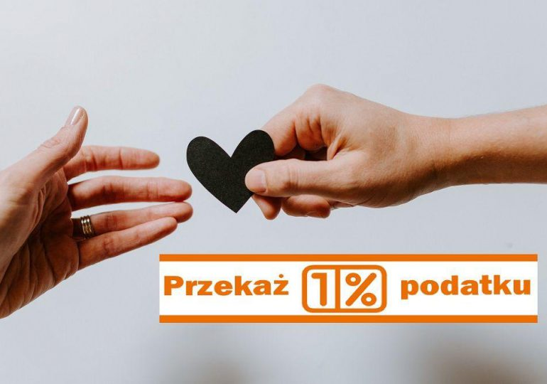 Polska: Przekaż 1% podatku dla Organizacji Pożytku Publicznego