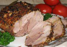 Kulinaria: Łopatka pieczona w musztardzie
