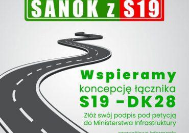 Sanok: Informacja dot. zbierania podpisów pod petycją ws. budowy łącznika z S19