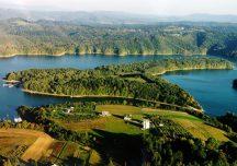 Lesko: Nowe domki i pole campingowe na Wyspie Energetyk w Bieszczadach