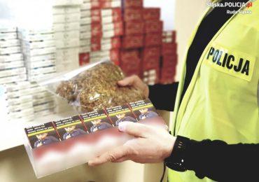 Leżajsk: Nielegalne papierosy i tytoń wykryto na posesji 69-latka.