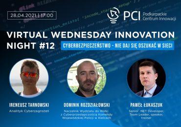 Rzeszów: Bądź bezpieczny w cyfrowym świecie. Przed nami 12. edycja Wednesday Innovation Night
