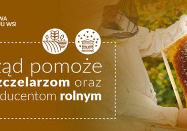 Rolnictwo: Wsparcie dla pszczelarzy i rolników po klęskach żywiołowych.