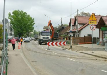 Rzeszów: Utrudnienia na ulicy Wierzbowej