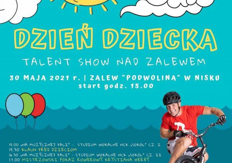 Nisko: Dzień Dziecka  - Talent Show nad zalewem.