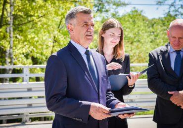 Rzeszów: Oddanie do użytkowania mostu w Chmielniku