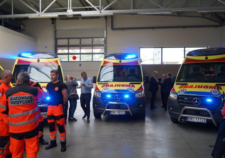 Mielec: Nowe ambulanse dla Mieleckiego Pogotowia Ratunkowego