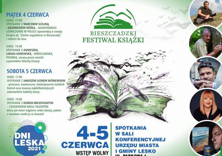 Lesko: Igor Brejdygant – autor Paradoksu, Szadzi, Rysy i Układu już w ten weekend zawita do Leska w ramach Bieszczadzkiego Festiwalu Książki.