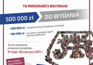 Jasło: Rozpoczynamy nabór projektów do kolejnej edycji Jasielskiego Budżetu Obywatelskiego