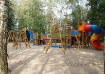 Nisko: Żołnierze wyremontowali plac zabaw w Nowej Sarzynie.