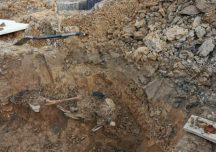 Ropczyce: Podczas prac budowlanych znaleziono fragment szkieletu