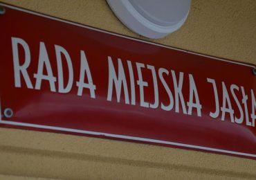 Jasło: Biuletyn sesyjny z XLIV sesji Rady Miejskiej Jasła