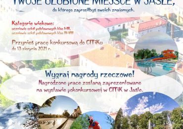 """Jasło: Weź udział w konkursie plastycznym ,,Poznaj moje ulubione miejsca w Jaśle""""!"""
